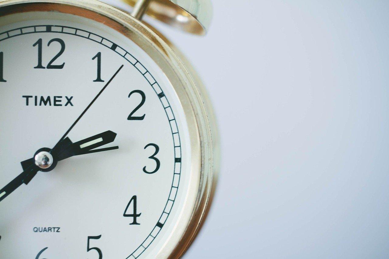 時間管理の4つの領域